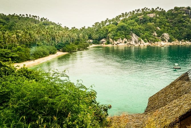 Hiking in Thailand on Koh Phangan