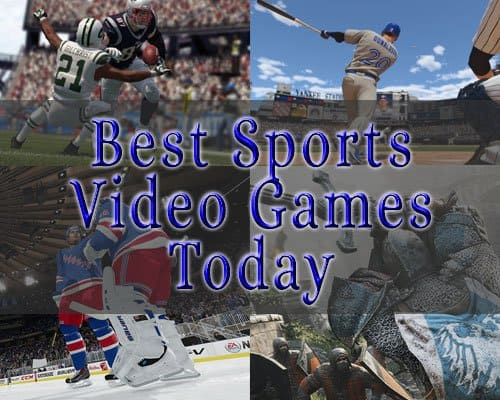 The Best Sports Video Games Today