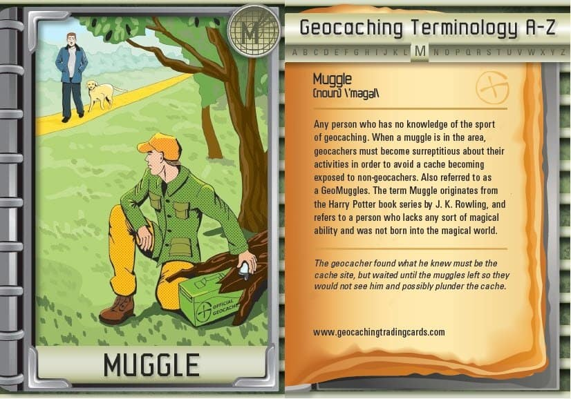 geo caching muggle