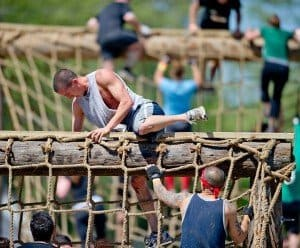 cargo nets can be hard to duplicate in Obstacle course training