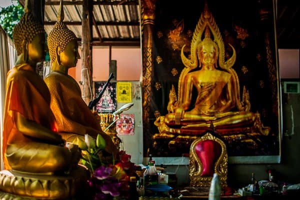 buddhist tattoo temple