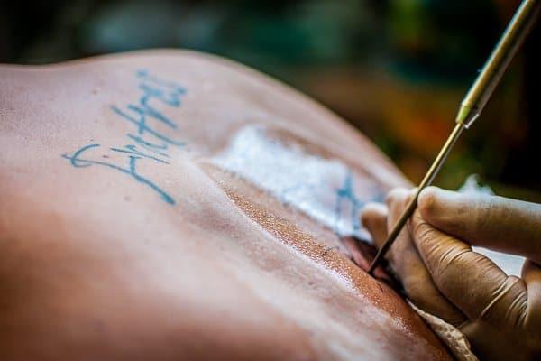 Buddhist tattoo
