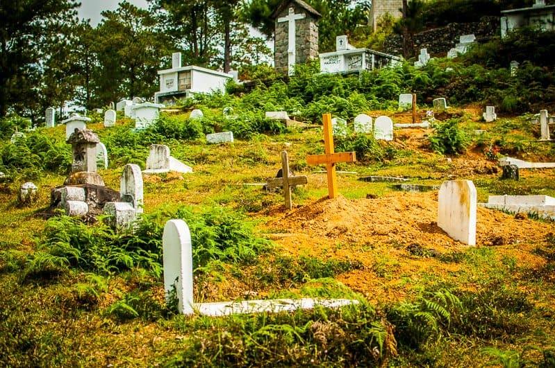 graveyard in sagada