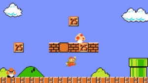 video game history mario