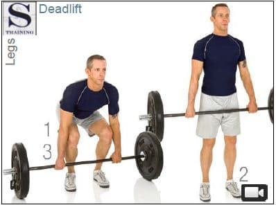 Best strength exercises dead lift