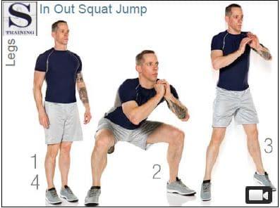 Best strength exercises squat jump