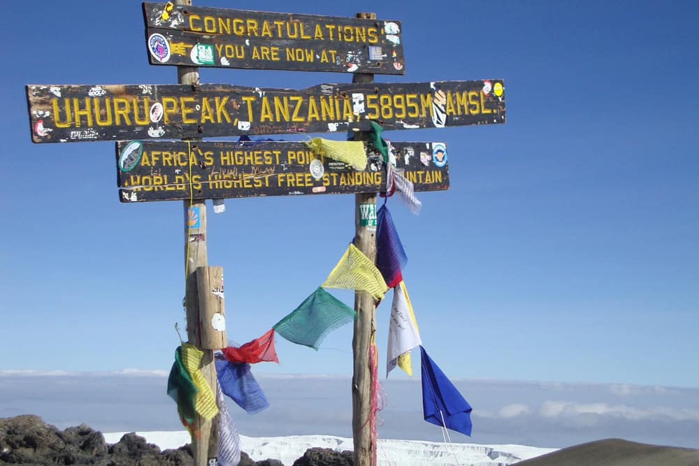 Climbing Mount Kilimanjaro summit