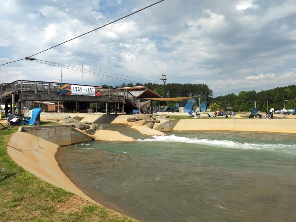 What to do at the US National Whitewater Center